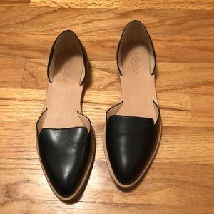 Loeffler Randall Black Flats Size 6